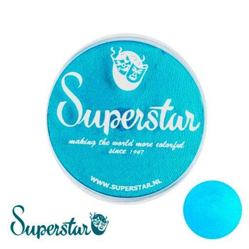 Superstar Ziva Superstar es una pintura de cara suave y cremosa altamente pigmentada. Se mezclan fácilmente, se secan en 30 segundos sobre la piel y se secan hasta obtener una cobertura sin manchas. Si quieres convertirte en un profesional, puedes obtener Superstar Ziva (Blue) Shimmer en el contenedor de 45 gramos. Superstar Ziva (Blue) Shimmer 45 gr