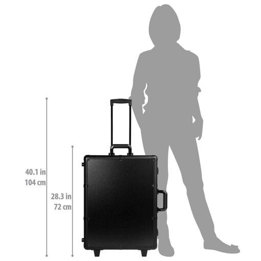 """<h2>IMPORTACION</h2> <ul class=""""a-unordered-list a-vertical a-spacing-none"""">  <li><span class=""""a-list-item"""">Resistente pero de lujo, brilla en pasarelas internacionales, la mejor maleta de maquillaje en su clase,</span></li>  <li><span class=""""a-list-item"""">Expositores de 2"""" a 5"""". 6 x 40 W luces regulables incluidas, extra de salida eléctrica para secador, plancha,</span></li>  <li><span class=""""a-list-item"""">Utilizado en pasarelas de modelaje como estaciones temporales de maquillaje, organizador de cosméticos, bolsa de viaje de maquillaje,</span></li>  <li><span class=""""a-list-item"""">Amigable en aeropuertos, de peso ligero comparado con los de su clase, patas extensibles, candados, varias bandejas, ventana despejada,</span></li> </ul> <a href=""""https://www.comprastodo.com/wp-content/uploads/2019/12/Meses-Sin-Intereses-PayPal.jpg""""><img class=""""aligncenter  wp-image-2049"""" src=""""https://www.comprastodo.com/wp-content/uploads/2019/12/Meses-Sin-Intereses-PayPal.jpg"""" alt="""""""" width=""""451"""" height=""""153"""" /></a> SHANY Studio - portafolio de maquillaje"""