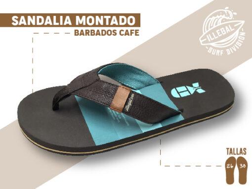 <b>SANDALIA MARCA ILEGAL</b> <b>PARA CABALLERO</b> <strong>Color Café con Tela</strong> <b>TALLAS DEL 26 A 30 CM</b> <b>PRECIO ESPECIAL A MAYORISTAS</b> <b>mayoreo@comprastodo.com</b> <b>SOMOS FABRICANTES</b> Sandalia Barbados Café