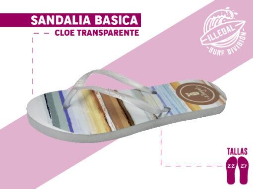 <b>SANDALIA MARCA ILEGAL</b> <b>PARA MUJER</b> <b>TALLAS DEL 22 al 27 CM</b> <b>PRECIO ESPECIAL A MAYORISTAS</b> <b>mayoreo@comprastodo.com</b> <b>SOMOS FABRICANTES</b> Sandalia Cloe Transparente