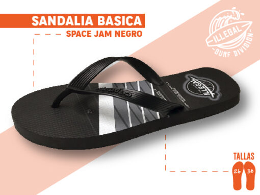 <b>SANDALIA MARCA ILEGAL</b> <b>PARA CABALLERO</b> <b>TALLAS DEL 26 A 30 CM</b> <b>PRECIO ESPECIAL A MAYORISTAS</b> <b>mayoreo@comprastodo.com</b> <b>SOMOS FABRICANTES</b> Sandalias Space Jam Negro