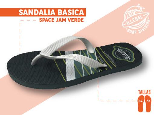 <b>SANDALIA MARCA ILEGAL</b> <b>PARA CABALLERO</b> <b>TALLAS DEL 26 A 30 CM</b> <b>PRECIO ESPECIAL A MAYORISTAS</b> <b>mayoreo@comprastodo.com</b> <b>SOMOS FABRICANTES</b> Sandalia Space Jam Verde