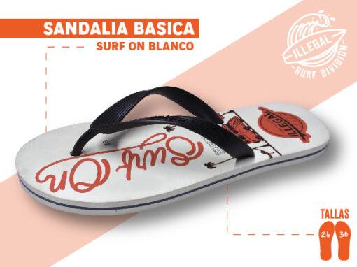 <b>SANDALIA MARCA ILEGAL</b> <b>PARA CABALLERO</b> <b>TALLAS DEL 26 A 30 CM</b> <b>PRECIO ESPECIAL A MAYORISTAS</b> <b>mayoreo@comprastodo.com</b> <b>SOMOS FABRICANTES</b> Sandalia Surf On Blanco