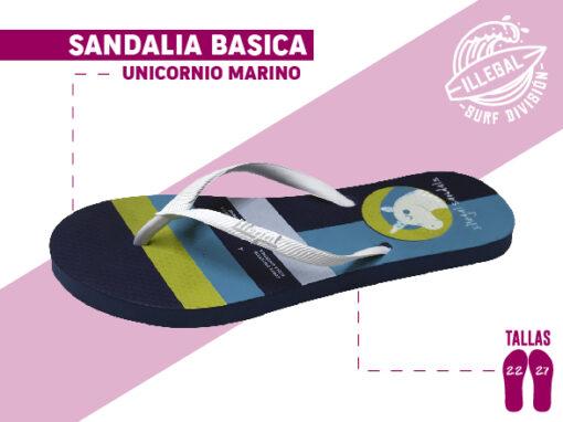 <b>SANDALIA MARCA ILEGAL</b> <b>PARA MUJER</b> <b>TALLAS DEL 22 al 27 CM</b> <b>PRECIO ESPECIAL A MAYORISTAS</b> <b>mayoreo@comprastodo.com</b> <b>SOMOS FABRICANTES</b> Sandalia Unicornio Marino