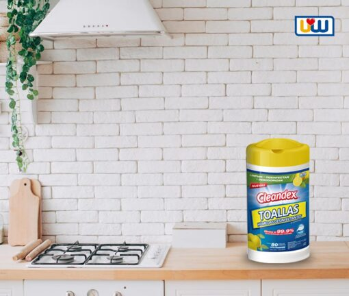 """antibacterial <h1 class=""""item-title__primary """">Cleandex Limón Antibacterial Toallas Para Superficies, 1Pz</h1> ATRIBUTOS Toallas Húmedas Cleandex Limón para superficies + Elimina el 99.9% de los gérmenes más comunes. + Limpian, desinfectan, desodorizan. + Extra Grandes. + Tela resistente y suave. _____________________________________ Consume lo hecho en México. <strong>PRECIO ESPECIAL A MAYORISTAS</strong> <a href=""""mailto:mayoreo@comprastodo.com""""><strong>mayoreo@comprastodo.com</strong></a> Cleandex Limón Toallas Antibacterial Para Superficies 1 Pz"""
