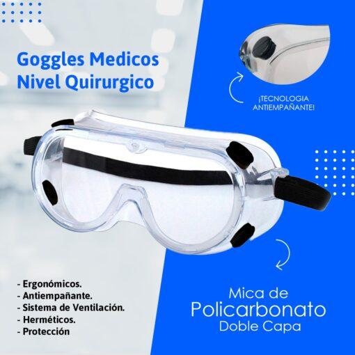 Gogles medicos quirurgicos