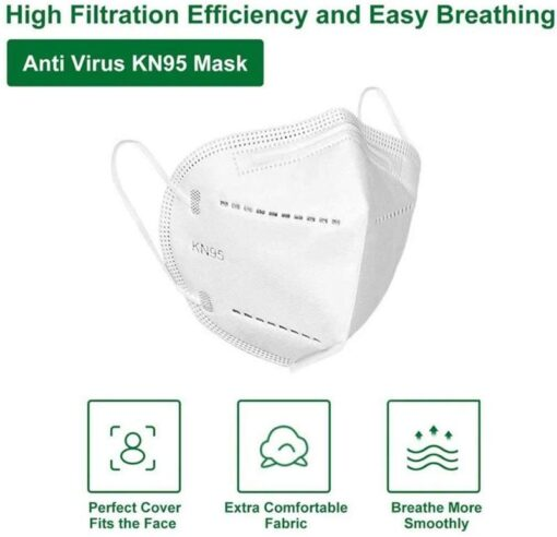 cubrebocas <h1>CUBREBOCAS KN95</h1> <h2>VENTA KIT 5 MASCARAS KN95</h2> •Cubrebocas N95 con certificación CE y FDA. •Tela no tejida , Spray solvente KN95, aislamiento térmico de algodón. •Certificada bajo la norma GB2626-2006. •Cubrebocas purificador de aire que contiene un medio filtrante electroestatico que permite filtrar mas del 95% de las partículas aéreas. •Eficiencia del 95%. • Diseño plegable resistente y de material ligero que permite sea fácil de guardar y transportar. •Recomendada por la Secretaria de Salud. •Mascarilla diseñada para uso personal y preferentemente para uso médico <strong>LLEVATE UN DESCUENTO EXTRA</strong> <strong>SI COMPRAS 3 O MAS 8% DESCUENTO </strong> <strong>SI ERES USUARIO REGISTRADO</strong> <strong>COMPRANDO 3 O MAS 15% DESCUENTO</strong> <strong>REGISTRATE GRATIS EN LA TIENDA Y OBTEN DESCUENTOS EN ALGUNOS PRODUCTOS DE HASTA 70% MIENTRAS MAS COMPRES, TUS DESCUENTOS CRECEN !!</strong> <h2><strong>Donde COMPRAS TODO ...MAS BARATO !!</strong></h2> Paquete 5 Cubrebocas KN95