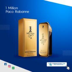 Perfume caballero 1 millon de paco rabanne